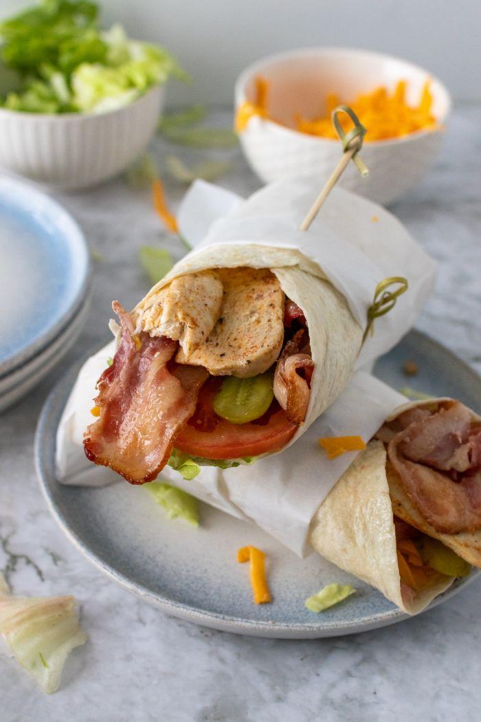 Bacon Chicken Wrap