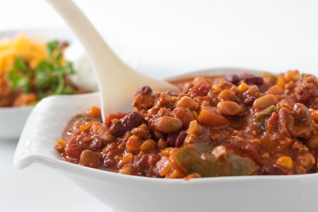 Hearty One Pot Turkey Chili