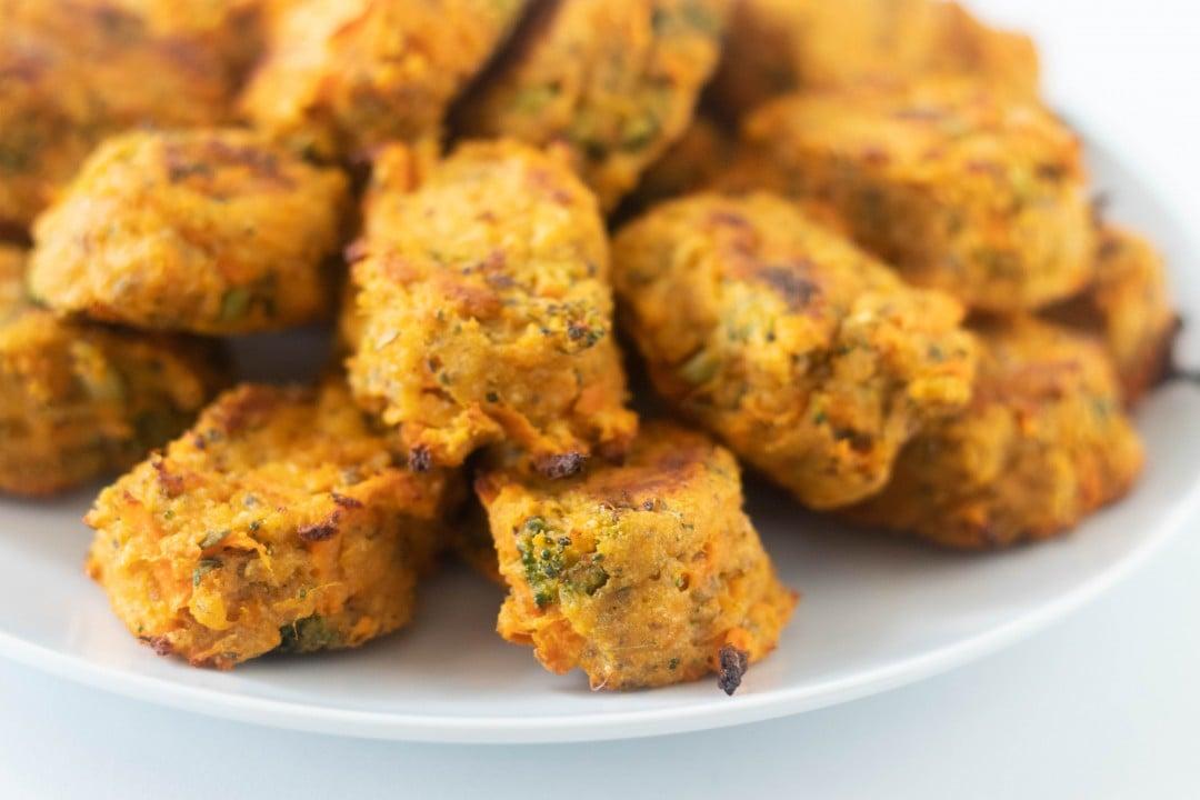 Sweet Potato Veggie Nuggets