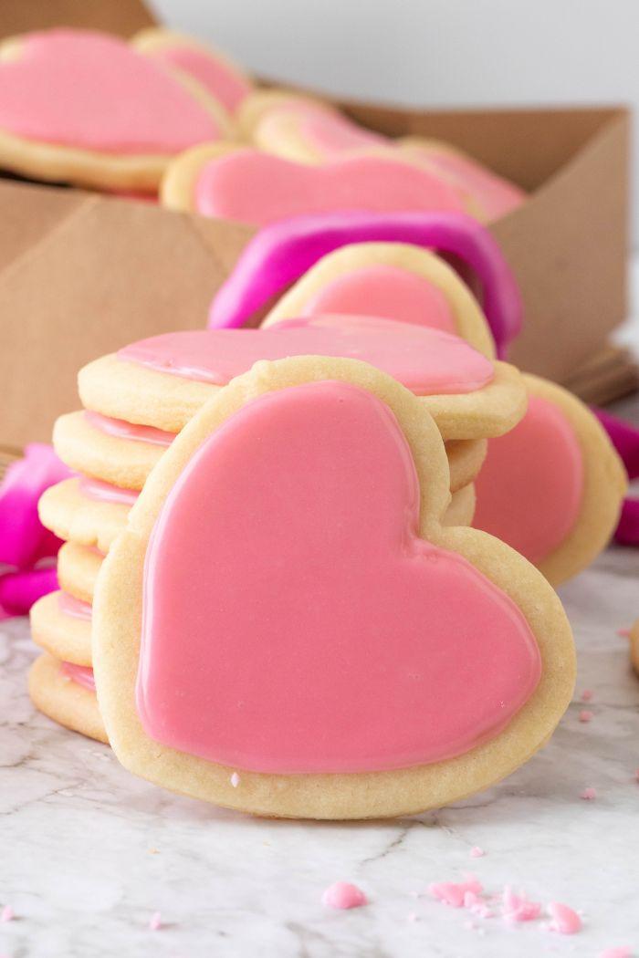 Valentine's Day Heart Cookies